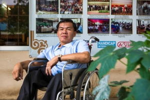 Disabled Cambodian's fight for their voting rights.