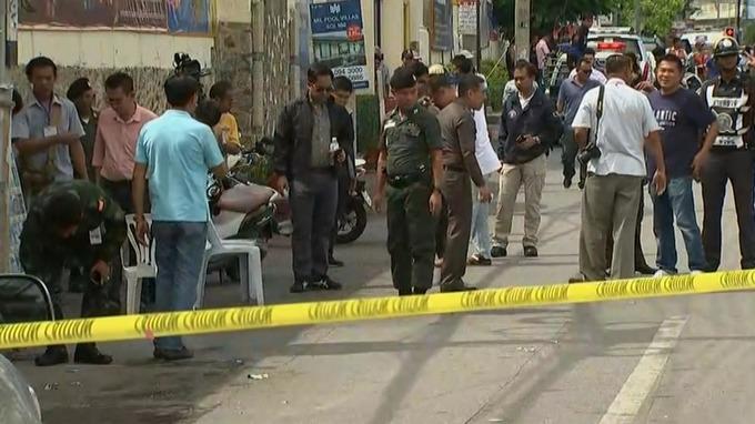 bomb thailand