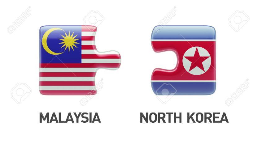 Malaysia North Korea  Puzzle Concept